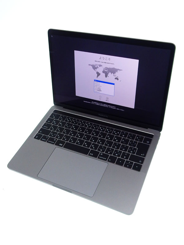 【Apple】アップル『MacBook Pro Retinaディスプレイ 3100/13.3』MPXV2J/A スペースグレイ Mid 2017 256GB High Sierra ノートPC 1週間保証【中古】b06e/h17AB
