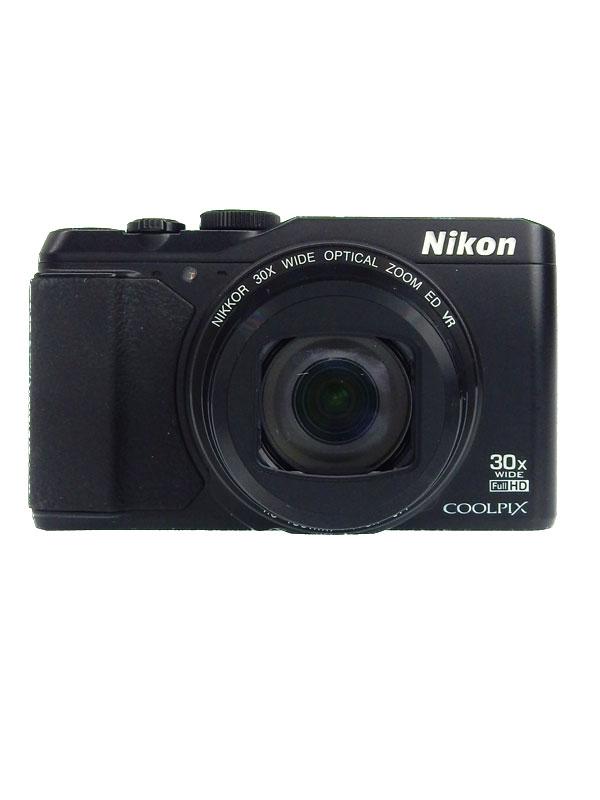 【Nikon】ニコン『COOLPIX(クールピクス)』S9900 ブラック 1605万画素 光学30倍 SDXC Wi-Fi コンパクトデジタルカメラ 1週間保証【中古】【中古】b03e/h15AB