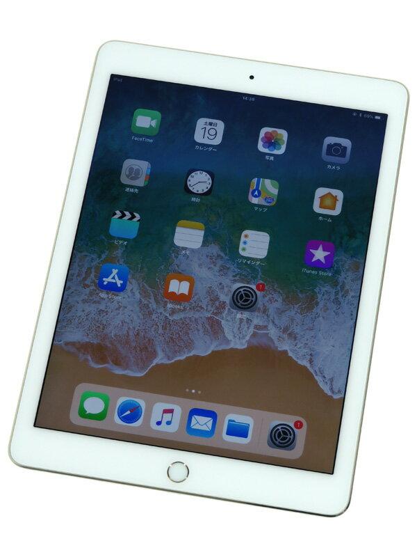 【Apple】アップル『iPad Air 2 Wi-Fi 128GB』MH1J2J/A ゴールド iOS11.3.1 9.7インチRetina タブレット型端末【中古】b03e/h15B