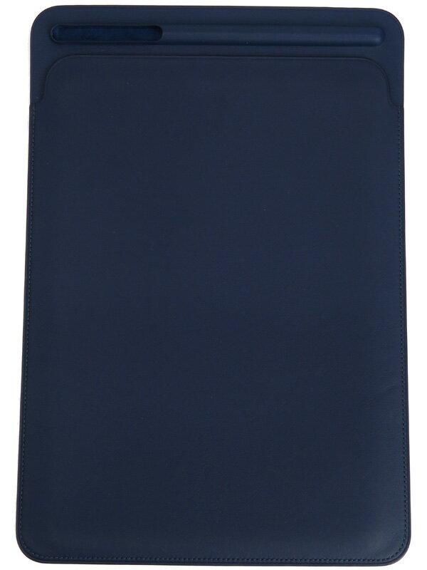【Apple】アップル『10.5インチiPad Pro用レザースリーブ』MPU22FE/A ミッドナイトブルー iPad用アクセサリー 1週間保証【中古】b03e/h02AB