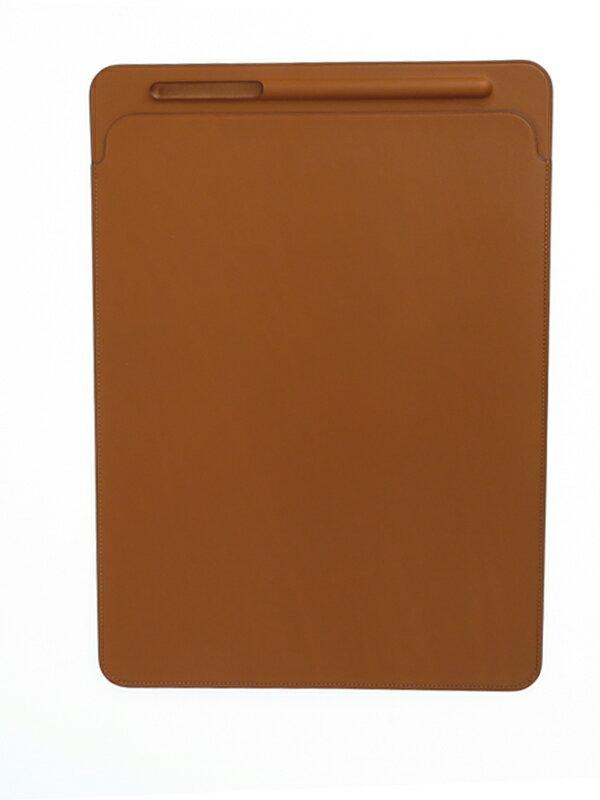 【Apple】アップル『12.9インチiPad Pro用レザースリーブ』MQ0Q2FE/A サドルブラウン iPad用アクセサリー レザー1週間保証【中古】b02e/h09AB