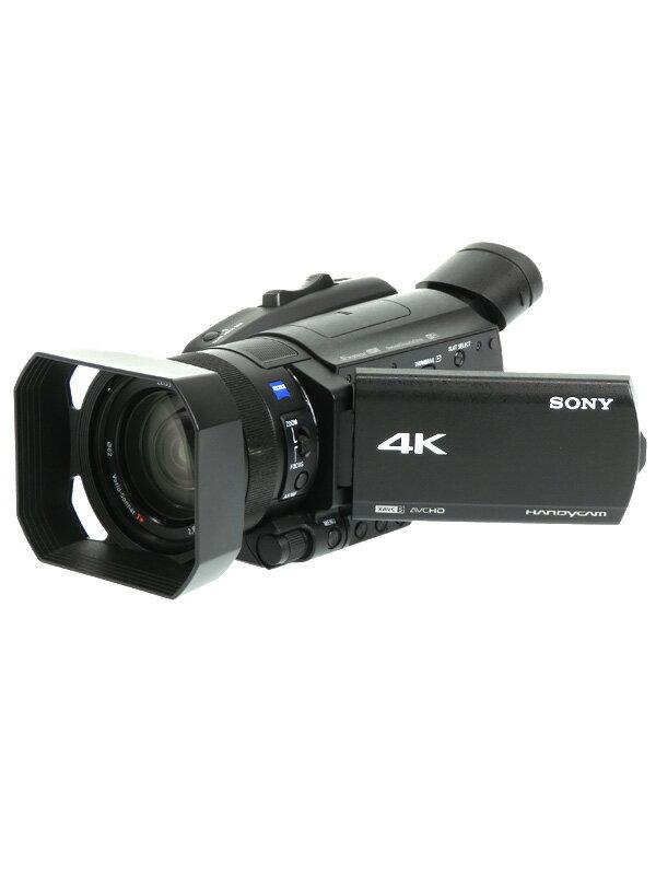 【SONY】ソニー『4Kハンディカム』FDR-AX700 広角29mm相当 光学12倍 SDXC/MS Pro-HDデュオ デジタルビデオカメラ 1週間保証【中古】b02e/h03AB