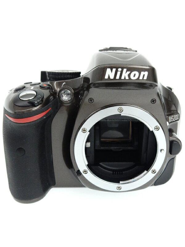 【Nikon】ニコン『D5200 ボディ』2410万画素 ブロンズ バリアングル液晶 フルHD動画 デジタル一眼レフカメラ 1週間保証【中古】b02e/h03AB