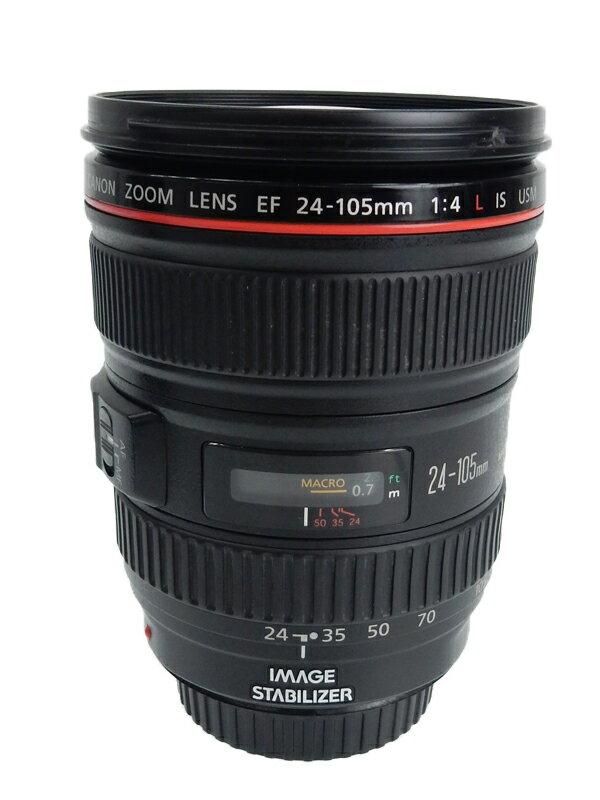 【Canon】キヤノン『EF24-105mm F4L IS USM』EF24-10540LIS フルサイズ対応 手ブレ補正 防塵・防滴 非球面レンズ レンズ 1週間保証【中古】b05e/h12AB