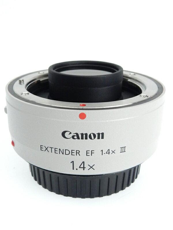 【Canon】キヤノン『EXTENDER EF1.4×III』EF14X3 1.4倍 エクステンダー テレコンバージョンレンズ 1週間保証【中古】b05e/h01AB