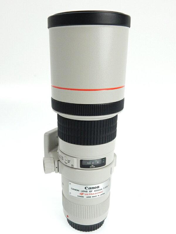 キヤノン『EF400mm F5.6L USM』EF40056L キヤノンEFマウント リアフォーカス 一眼レフカメラ/ミラーレスカメラ用交換レンズ 1週間保証【中古】b05e/h22AB