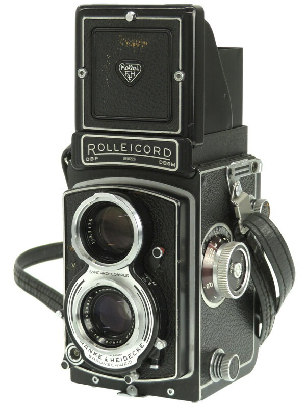 【Rollei】ローライ『ローライコード Va型』75mmF3.5 6×6cm判 フィルム二眼レフカメラ 1週間保証【中古】b06e/h17B