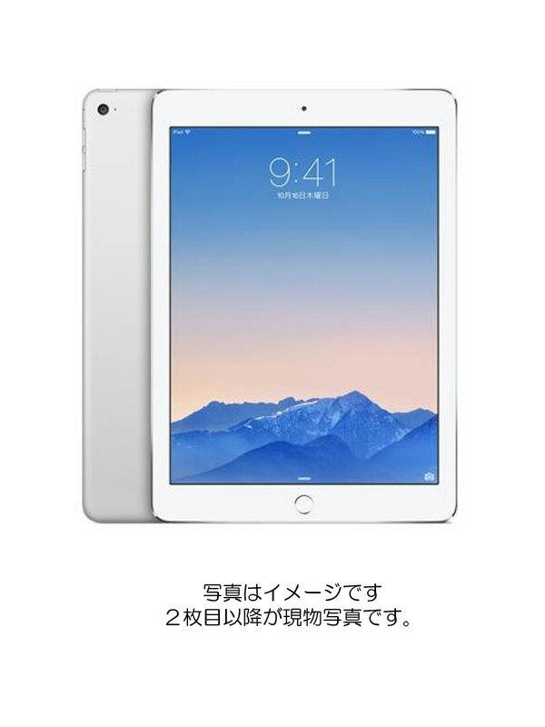 【Apple】【docomoのみ】アップル『iPad Air 2 Wi-Fi + Cellular 16GB docomo シルバー』MGH72J/A タブレット 1週間保証【中古】b03e/h06AB