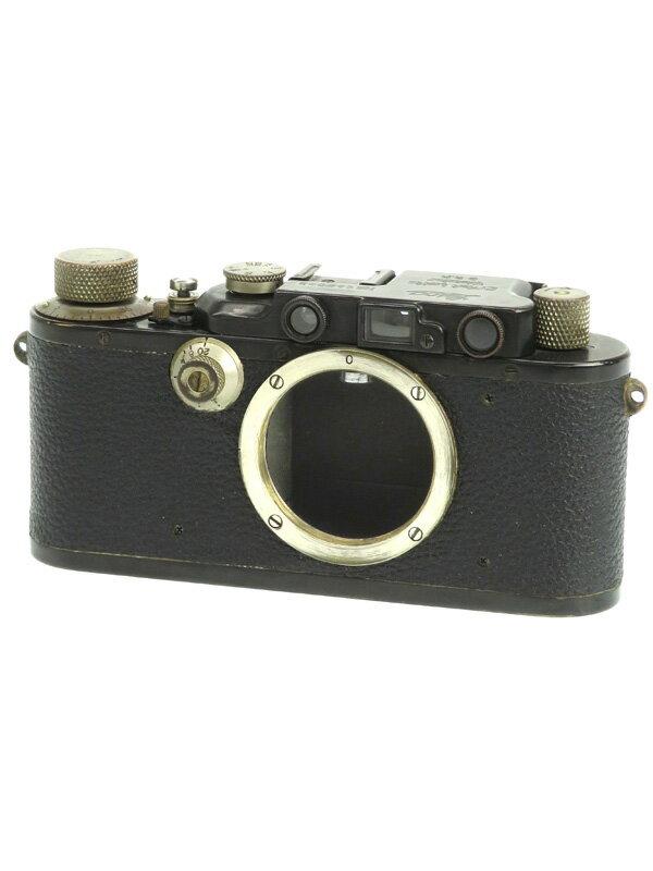 【Leica】ライカ『DIII』ブラック 35mmフィルム レンジファインダーカメラ 1週間保証【中古】b03e/h06BC