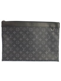 【LOUIS VUITTON】【ポシェット アポロ】ルイヴィトン『モノグラム エクリプス ポシェット アポロ ディスカバリー』M62291 クラッチバッグ 1週間保証【中古】b02b/h21A