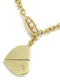 【PIAGET】ピアジェ『K18YG インヤン ネックレス ダイヤモンド』1週間保証【中古】b01j/h02A