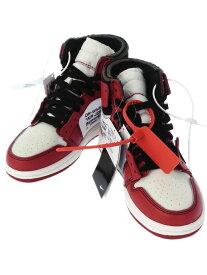 【NIKE】【シカゴ】【FB鑑定済】【オフホワイト】ナイキ『THE 10 エアジョーダン1 size23cm』AA3834-101 レディース 靴 1週間保証【中古】