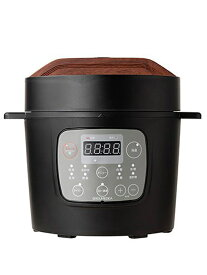 【共栄物産】『マイコン式2.0リットル電気圧力鍋 GROUMEDEA ブラック 』YBW20-70 1週間保証【中古】b03e/b00S