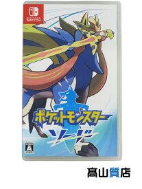 【Nintendo】任天堂『ポケットモンスター ソード』Switch ゲームソフト 1週間保証【中古】