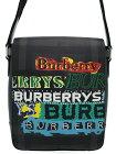 【BURBERRY】バーバリー『ロゴプリント ロンドンチェック メッセンジャーバッグ』4077324 メンズ ショルダーバッグ 1週間保証【中古】