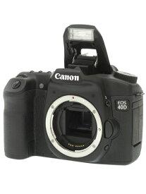 【Canon】キヤノン『EOS 40Dボディー』EOS40DBODY EF-S 1010万画素 CFカード デジタル一眼レフカメラ 1週間保証【中古】