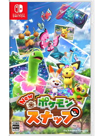 【Nintendo】任天堂『New ポケモンスナップ』switch ゲームソフト 1週間保証【中古】