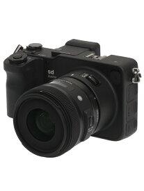 【SIGMA】シグマ『sd Quattro + 30mm F1.4 DC HSM   Art キット』2950万画素 APS-C ミラーレス一眼カメラ 1週間保証【中古】