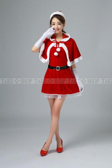 サンタ コスプレ【あす楽対応】ふわふわな肉厚 帽子付きボレロ一点のみの販売、ポンチョ クリスマス衣装含まれておりません。、サンタコスプレ、子供〜大人ok!