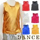 【6色・4サイズ】メタリック エナメル タンクトップ トップス ダンス衣装 子供〜大人までok! 男女兼用 ヒップ…