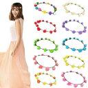 【10色】約12個コサージュ付ドレス花冠1本 約6個コサージュ付ドブレス(2本) 花かんむり ヘアアクセサリー ヘッド…