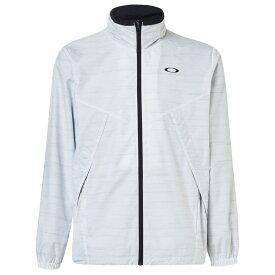 (オークリー)ENHANCE WIND WA RM JKT トレーニングウエア ブレーカーシャツ FOA401601-28B