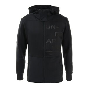 (アンダーアーマー)UA HYBRID KNIT   JACKET トレーニングウエア ウォームアップシャツ 1358821-001BLK