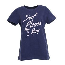 (ロキシー)SURF PLESE ROX Y トレーニングウエア Tシャツ RST201083-NVY