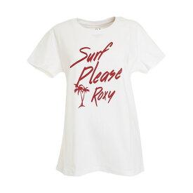 (ロキシー)SURF PLESE ROX Y トレーニングウエア Tシャツ RST201083-WHT1