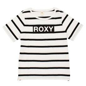 (ロキシー)GLITTER LOGO TE E トレーニングウエア Tシャツ RST201601Y-BBO