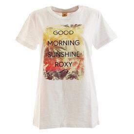 (ロキシー)GOOD MORNING TE E トレーニングウエア Tシャツ RST201607Y-NbT