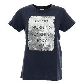 (ロキシー)GOOD MORNING TE E トレーニングウエア Tシャツ RST201607Y-NVY