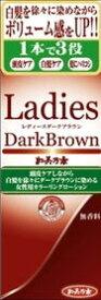 レディースダークブラウン加美乃素 無香料 150ml