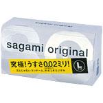 ・サガミオリジナル 002 Lサイズ  12個(お一人様10個まで)
