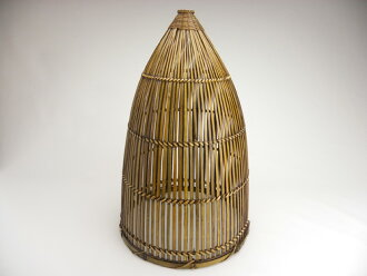 Bamboo shop takei rakuten global market bamboo lamp shades bamboo lamp shades mountain type 24 cm 38 cm contrast of shadow and light light on natural taste bamboo knitted carefully lampshade style too mozeypictures Gallery