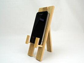 スマホ立て ごま竹 スマホスタンド モバイルスタンド iPhone iPad Android タブレット サクッと立てられるインテリア 和風 竹 安心 スマホ 壁掛け スマートフォン ギフトにも