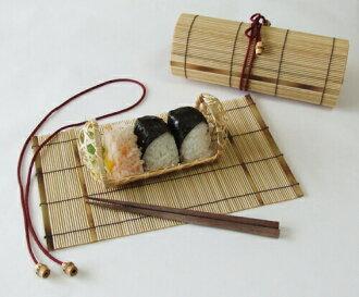 三角米球 (小) 篮竹更生女士受欢迎午餐盒出更轻的阴影长度我丈夫照顾容易双关,可爱的日本制竹饭团 Bento 框手工透气竹篓