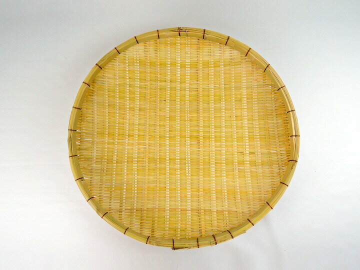 梅干用大型ざる 小 径56cm 竹製 竹ざる ザル 笊盆ざる 丈夫