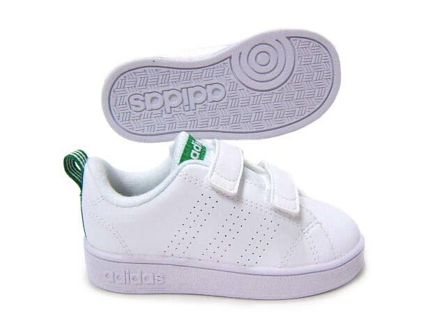 スタンスミスCFのデザインをイメージした子供靴♪adidas/アディダス バルクリーン2CMF INF AW4889
