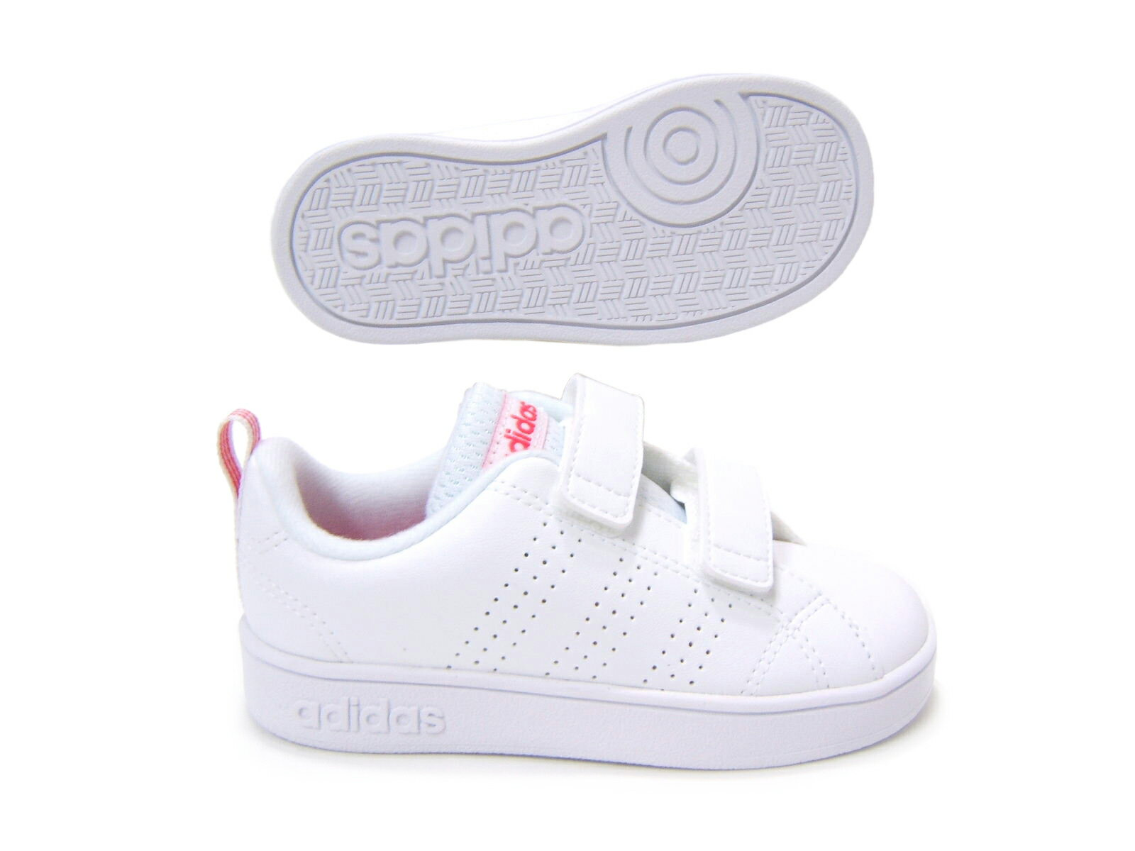 スタンスミスCFのデザインをイメージした子供靴♪adidas/アディダス バルクリーン2CMF INF BB9980