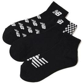 3足セットでお得なNB靴下セット!NB/ニューバランス ミッドレングス3PソックスJASL7793-AS8