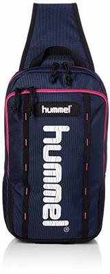 ワンショルダーでお出かけ♪hummel/ヒュンメル ワンショルダーバッグHFB9122-7024ネイビー×S.ピンク