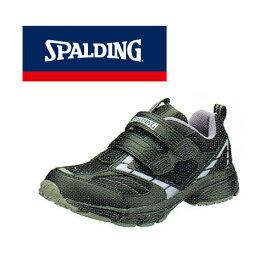 普段履きやウォーキングにオススメ♪SPALDING/スポルディング JIN-338 ブラック レディース タウンシューズ ウォーキング 普段履き カジュアル