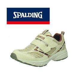 普段履きやウォーキングにオススメ♪SPALDING/スポルディング JIN-338 サンド レディース タウンシューズ ウォーキング 普段履き カジュアル