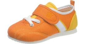 お子様の足を真剣に考えMade in Japanの安心を♪アサヒ/健康くん P037 オレンジKC50031