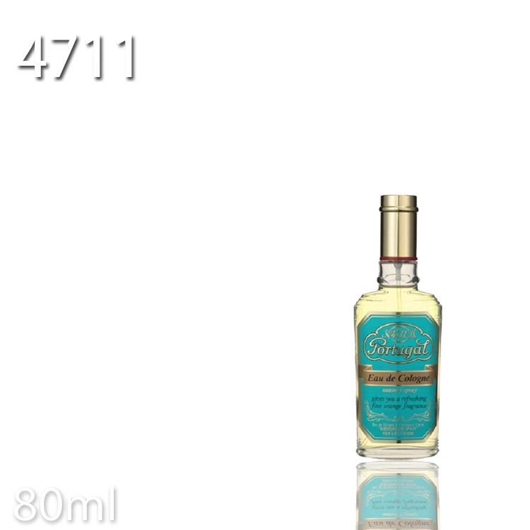 【期間限定】4711ポーチュガル オーデコロンナチュラルスプレー 80ml 【柳屋】【 evidence 】【KIK】