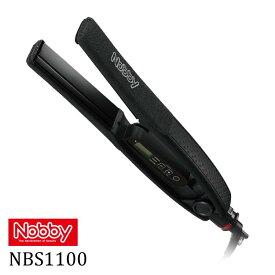 Nobby ノビー ヘアーアイロンストレートアイロン NBS1100 ブラック K KIK ヘアアイロン コテ 巻き髪 ストレート ヘアーセット 美容室 理容室