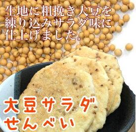 大豆サラダせんべい【かわのや】【煎餅】【大豆】【イソフラボン】【店頭受取対応商品】