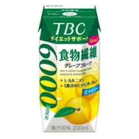 送料無料/TBCダイエットサポート 食物繊維 200ml 48本セット