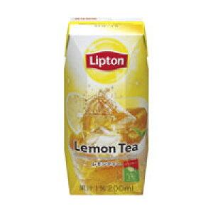 送料無料/リプトン Lipton レモンティー 200ml 2ケース48本(1ケース24本入)【常温保存可能】